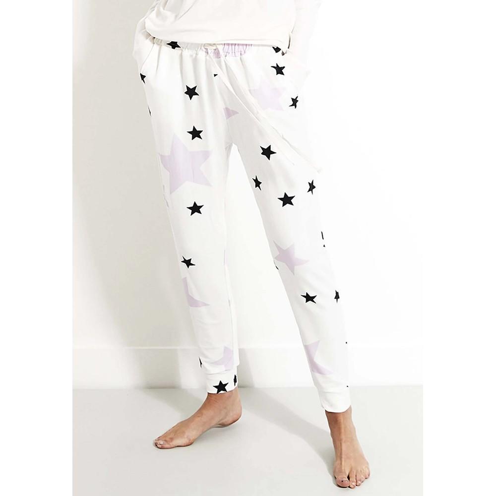 Lounge Pant - Pink Star