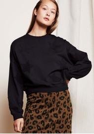 FABIENNE CHAPOT Meike GOTS Organic Cotton Sweater - Black Star