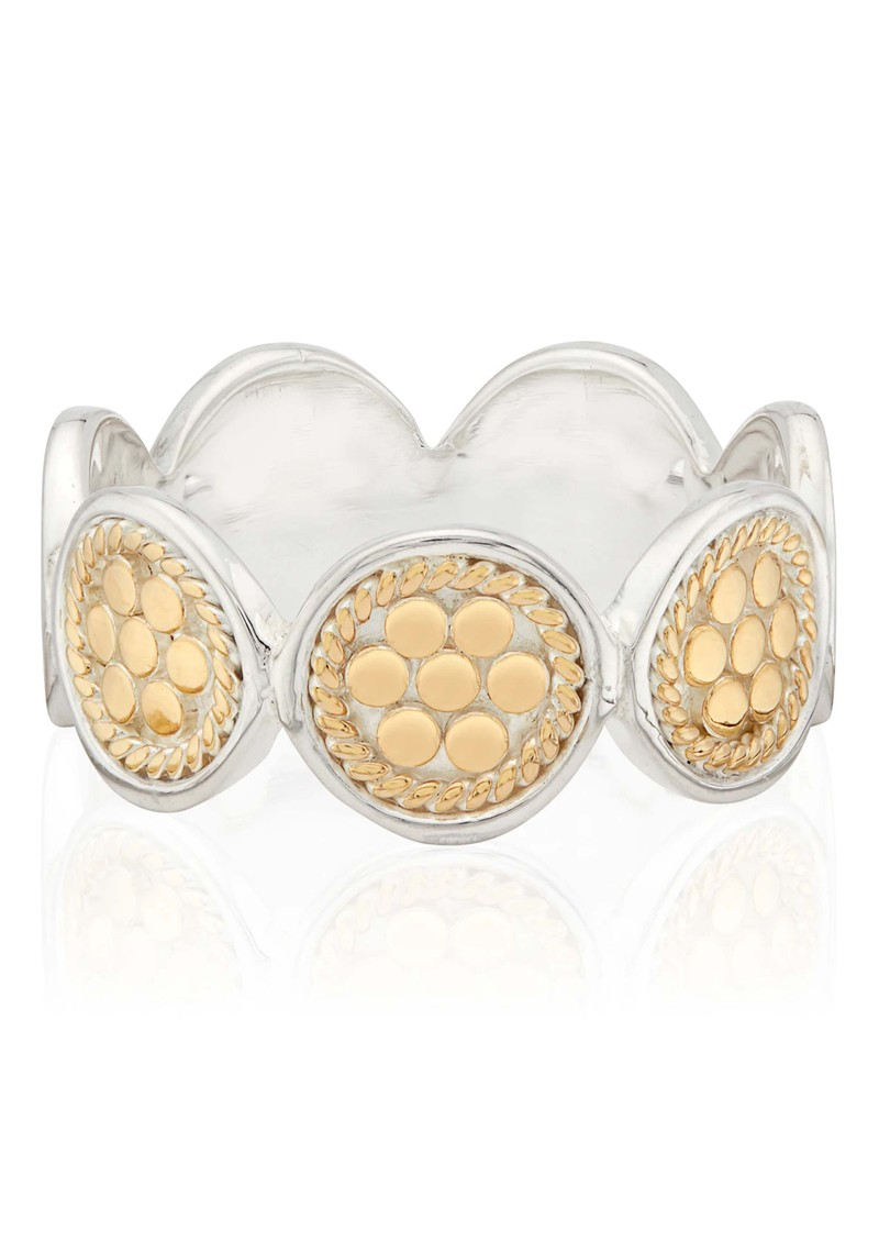 ANNA BECK Classic Multi Disc Ring - Gold main image