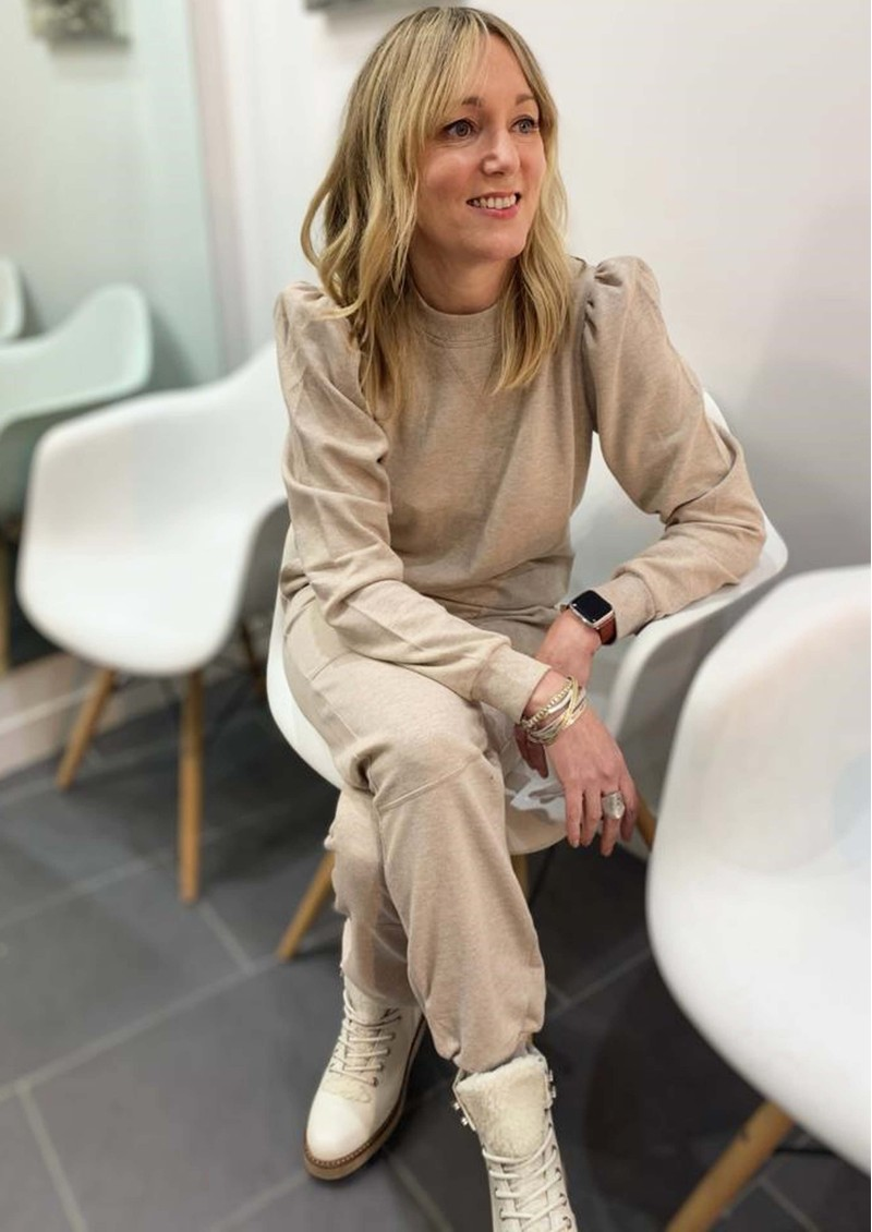 Day Birger et Mikkelsen  Day Spin Cotton Mix Trousers - Cement main image
