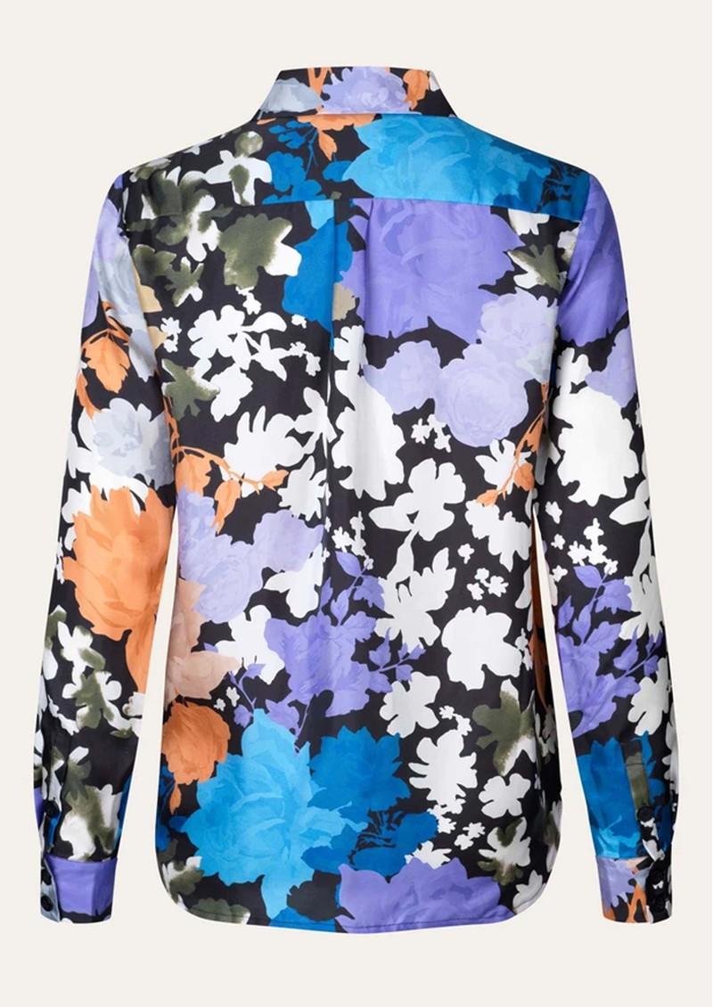 STINE GOYA Maxwell Silk Shirt - Flora main image