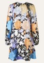 Coco Silk Dress - Flora additional image
