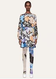 STINE GOYA Coco Silk Dress - Flora
