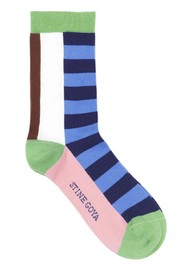 STINE GOYA Iggy Socks - Multi Stripe