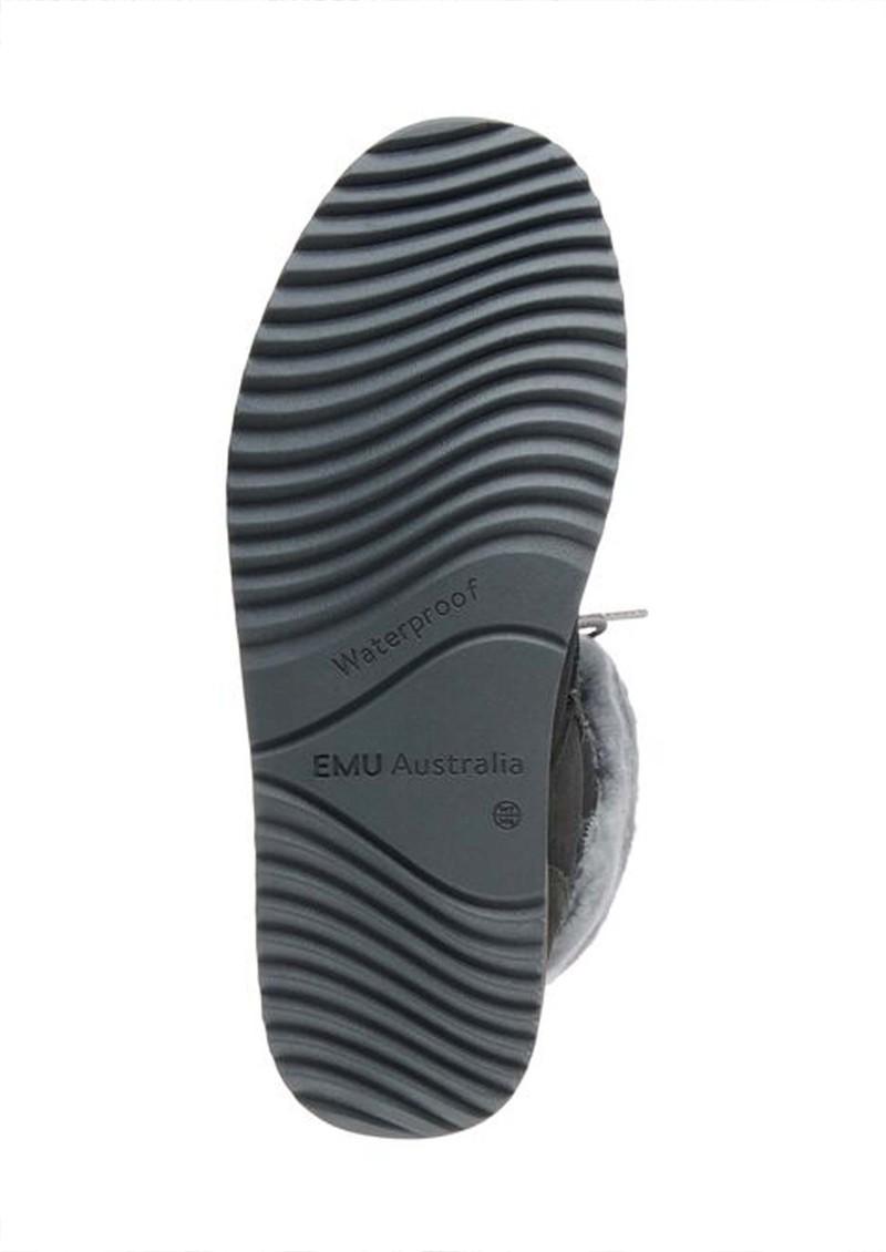 EMU Shoreline Waterproof Sheepkin Boots - Dark Grey main image