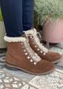EMU Billington Suede Waterproof Hiking Boots - Oak