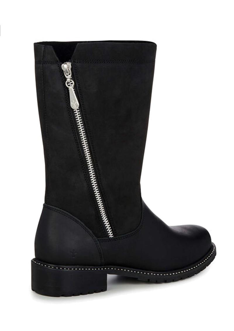 EMU Yancoal Mid Calf Leather Boot - Black main image