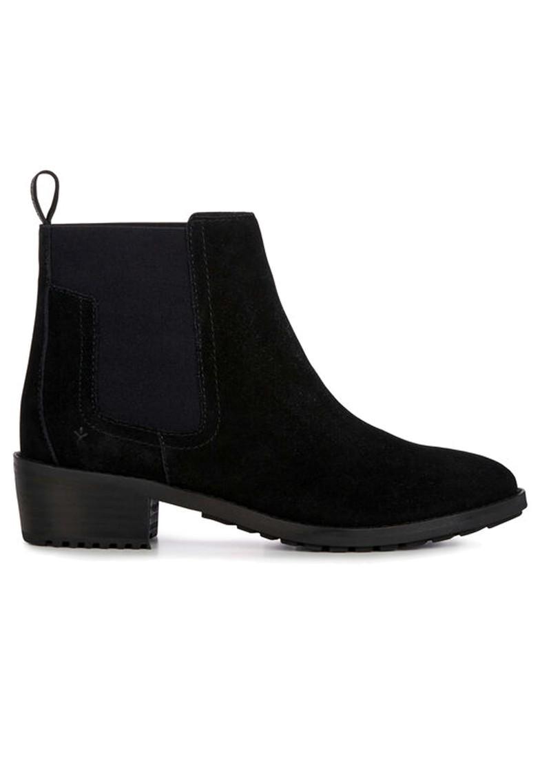 EMU Borden Waterproof Suede Ankle Boots - Black main image