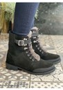 Waldron Mix Mid Calf Waterproof Boots - Black additional image