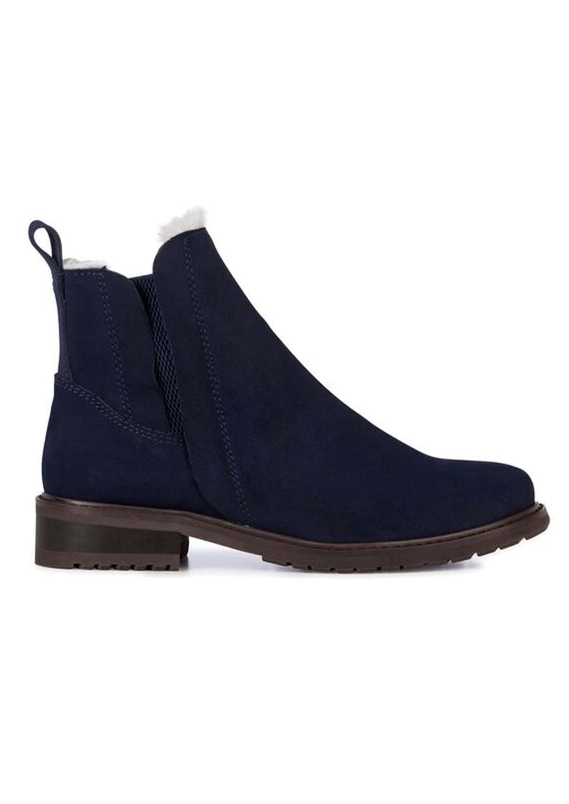 EMU Pioneer Waterproof Suede Ankle Boots - Midnight main image