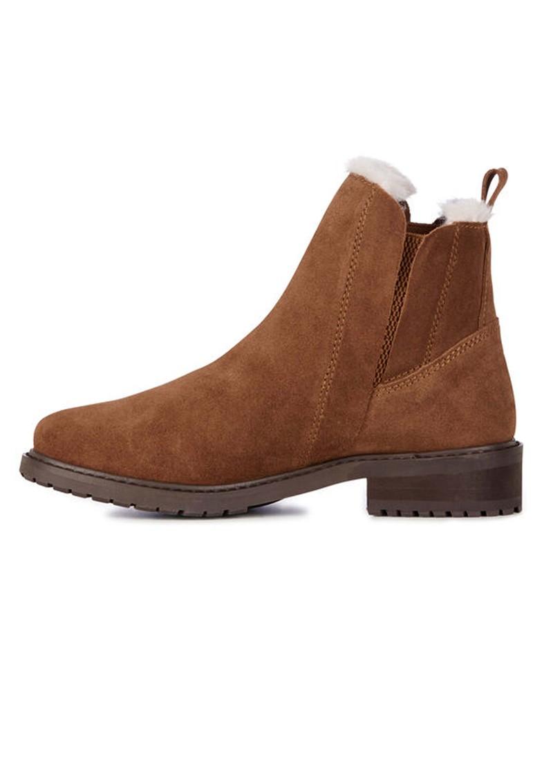 EMU Pioneer Waterproof Suede Ankle Boots - Oak main image