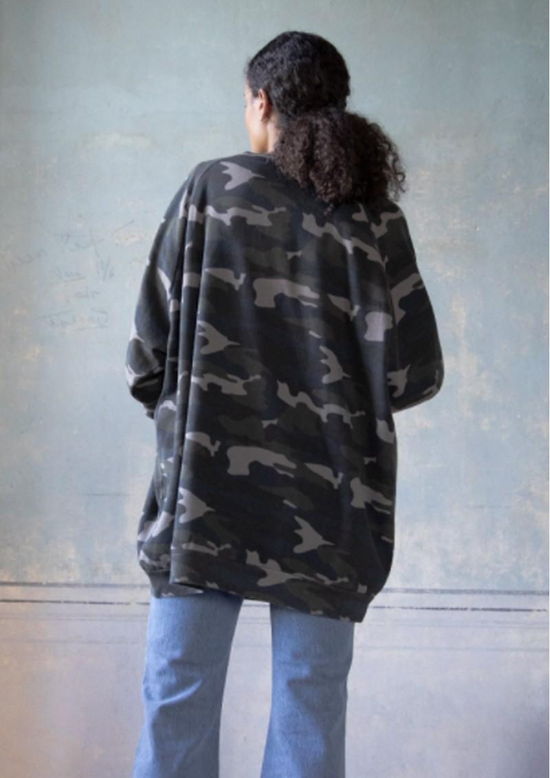 RAGDOLL Super Oversized Sweatshirt - Camo Army main image