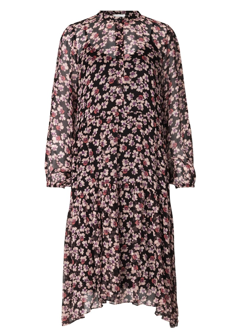 Fleurir Floral Printed Dress - Black  main image