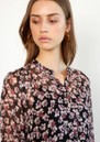 Fleurir Floral Printed Dress - Black  additional image