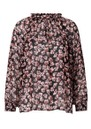 Fleurir Floral Printed Blouse - Black additional image