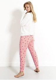 STRIPE & STARE Lounge Pant - Heart Throb