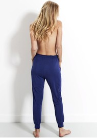 STRIPE & STARE Lounge Pant - Navy