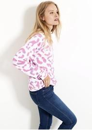 STRIPE & STARE Essential Sweatshirt - Persian Leopard