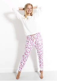 STRIPE & STARE Lounge Pant - Persian Leopard