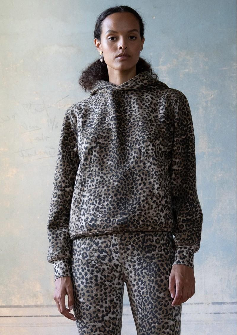 RAGDOLL Oversized Hoodie - Brown Leopard main image