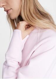 RAG & BONE Fleece Sweathshirt - Ultra Pink