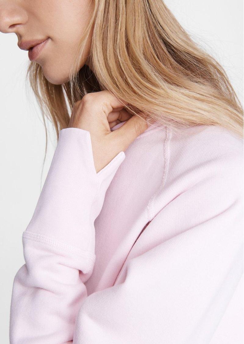 RAG & BONE Fleece Sweathshirt - Ultra Pink main image