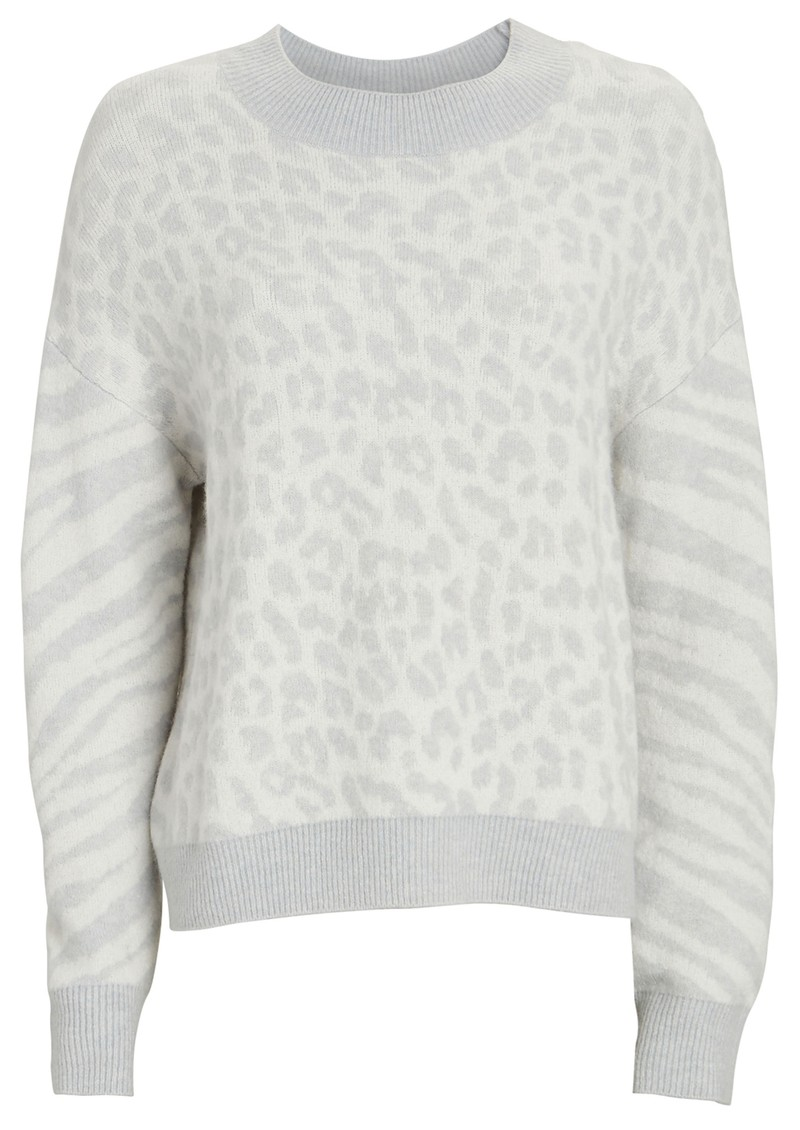 Lana Jumper - Ivory Animal main image