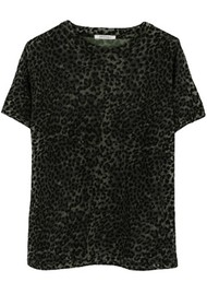 RAGDOLL Easy Vintage Cotton Tee - Army Leopard