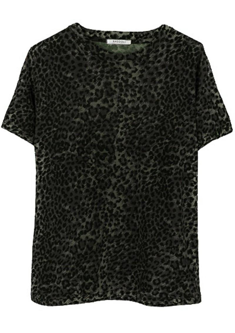 RAGDOLL Easy Vintage Cotton Tee - Army Leopard main image