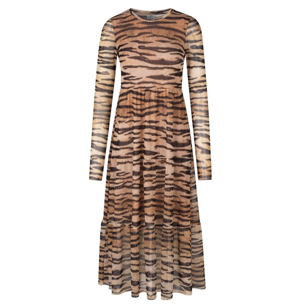 Jocelina Dress - Natural Tiger