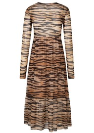 BAUM UND PFERDGARTEN Jocelina Dress - Natural Tiger