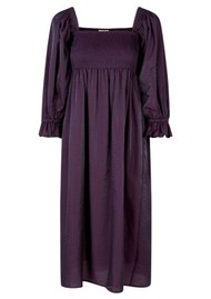 BAUM UND PFERDGARTEN Adanna Dress - Plum Perfect