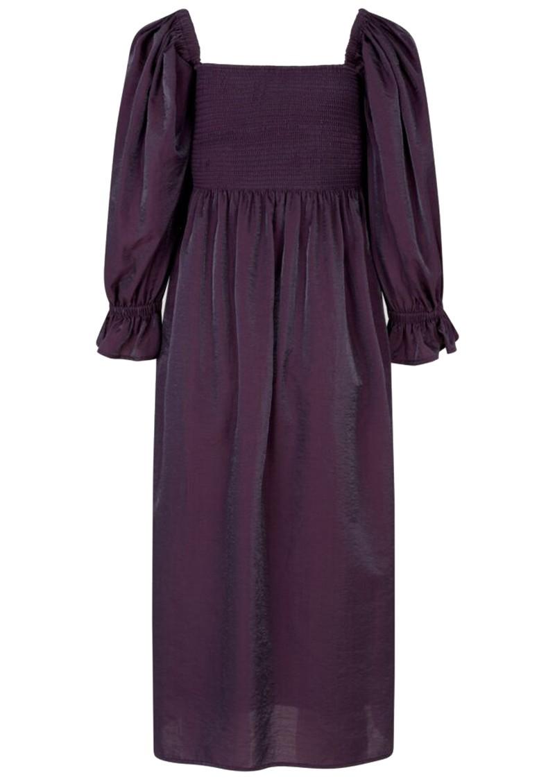 BAUM UND PFERDGARTEN Adanna Dress - Plum Perfect main image