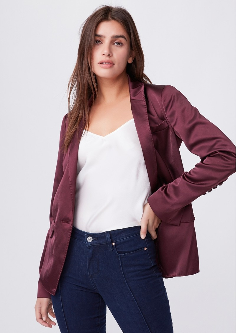 PAIGE DENIM Samille Blazer - Fig main image