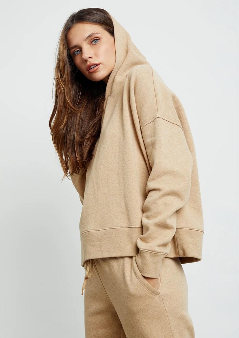 Rails Nico Hoodie - Heather Camel main image