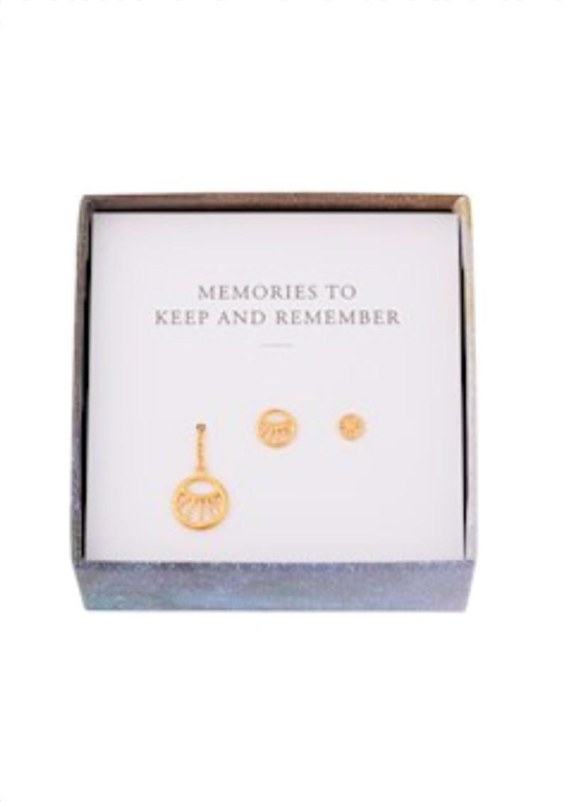 PERNILLE CORYDON Dream Earring Box - Gold main image