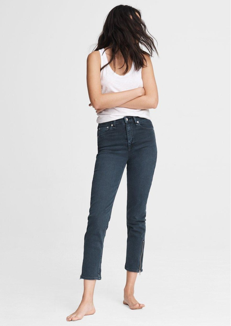 RAG & BONE Nina High Rise Cigarette Jeans - Minna main image