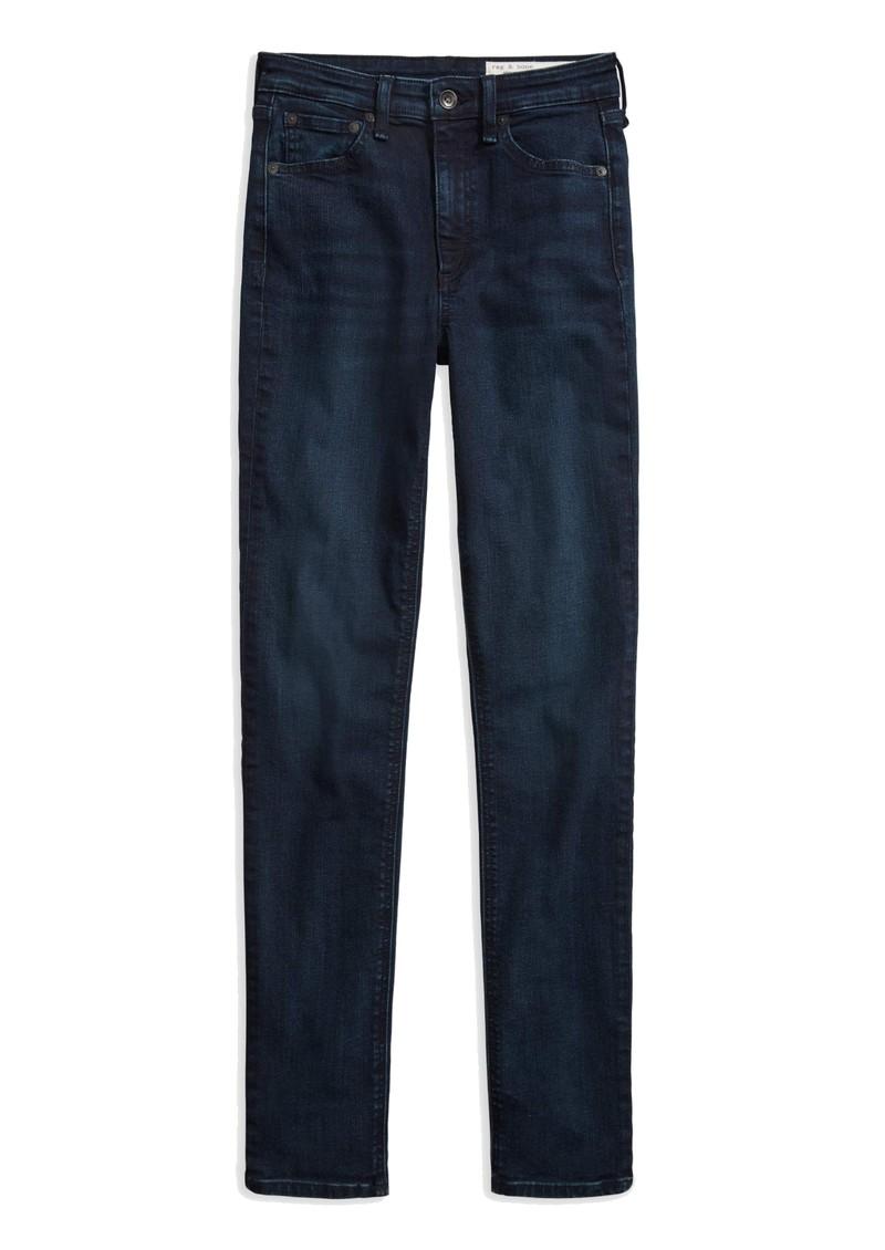 RAG & BONE Nina High Rise Skinny Jeans - Bayview main image
