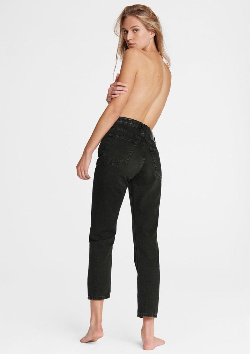 RAG & BONE Maya High Waisted Ankle Wide Leg Jeans - Highland main image