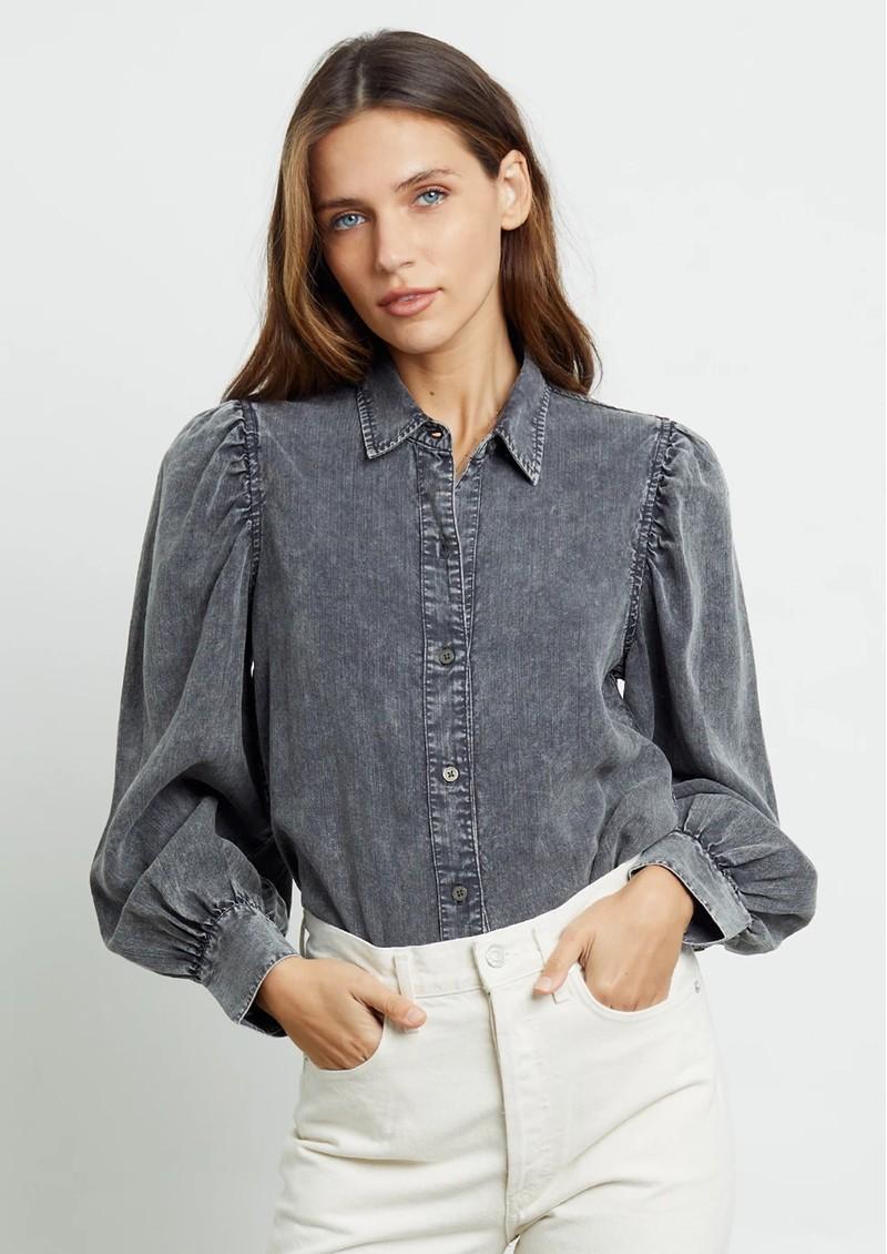 Rails Angelica Shirt - Black Acid main image
