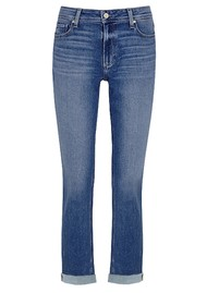PAIGE DENIM 	 Brigitte High Rise Slim Fit Boyfriend Jeans - Cabbie