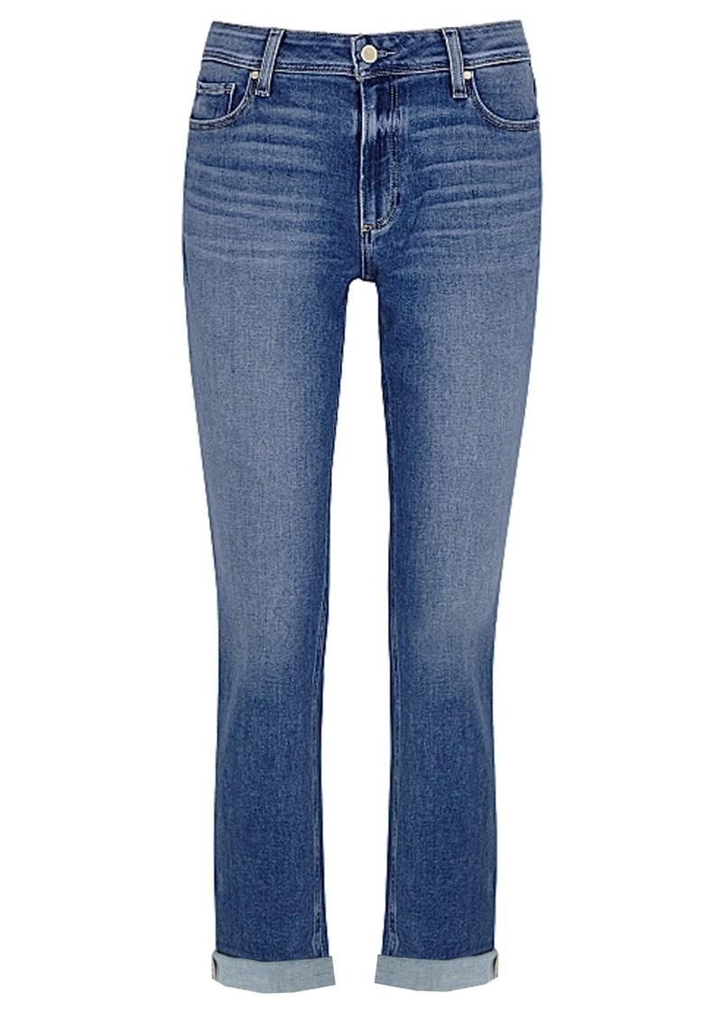 Paige Denim  Brigitte High Rise Slim Fit Boyfriend Jeans - Cabbie main image