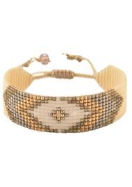 MISHKY Peeky Narrow Bracelet -Gold