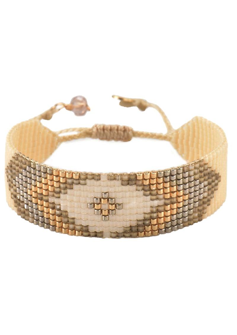 MISHKY Peeky Narrow Bracelet - Gold main image