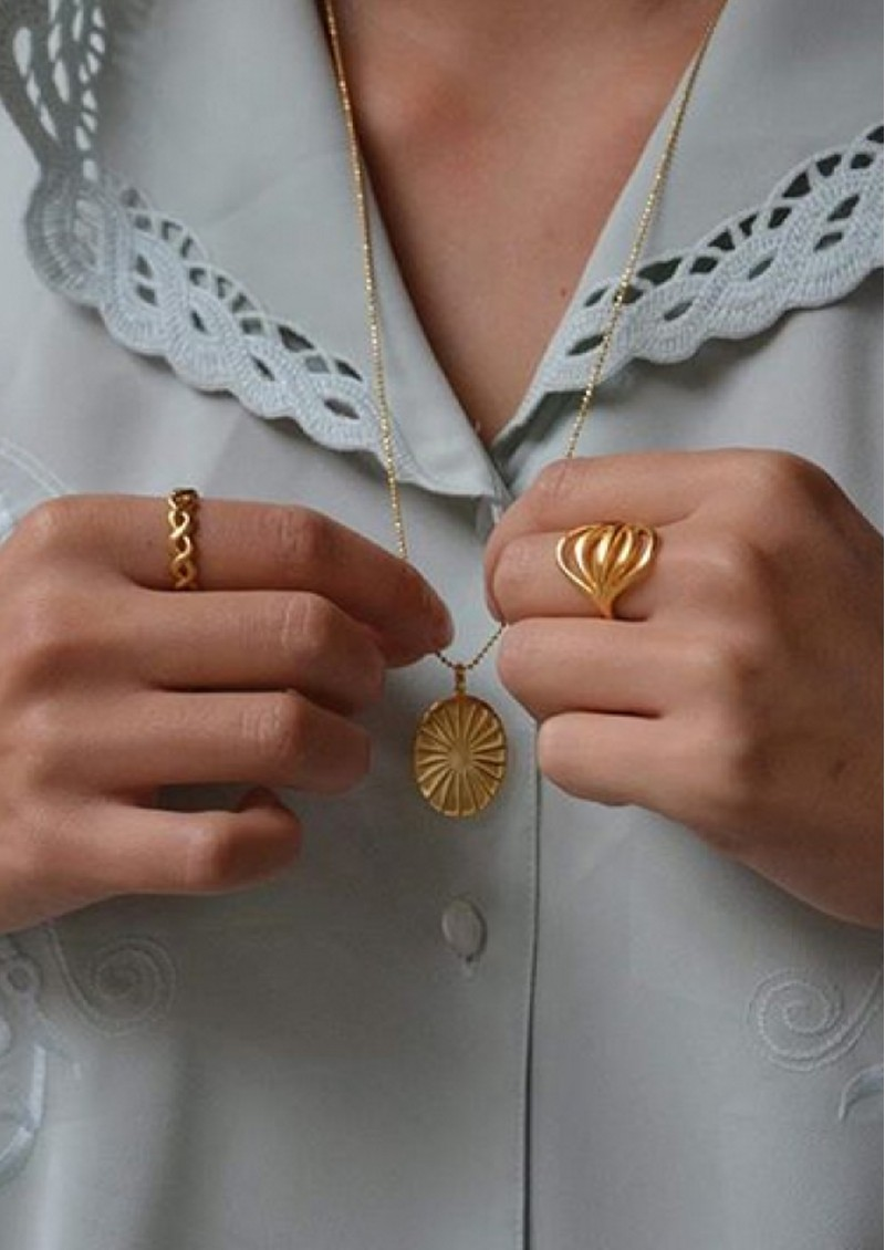 PERNILLE CORYDON Tidal Ring - Gold main image