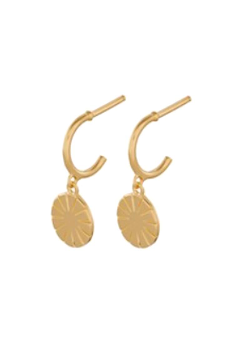 PERNILLE CORYDON Copenhagen Creoles Earrings - Gold  main image