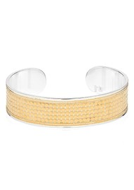ANNA BECK Classic Medium Dotted Cuff - Gold