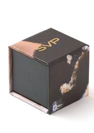 SVP Firestarter Adjustable Ring - Black Spinel & Silver