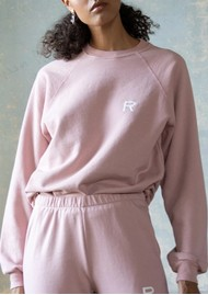 RAGDOLL Oversized Sweatshirt - Rose