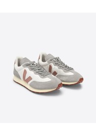 VEJA Riobranco Hexamesh Trainers - Gravel, Dried Petal & Oxford Grey